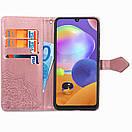 Кожаный чехол (книжка) Art Case с визитницей для Realme C15 / C12, фото 3