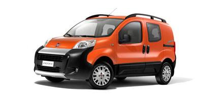 Рейлинги, поперечины Fiat Fiorino