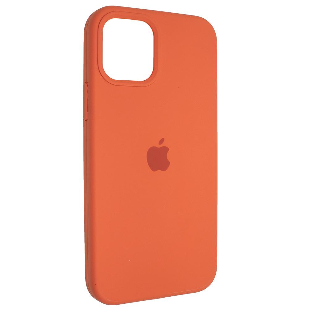 """Чехол Full Silicon iPhone 12 - """"Абрикос №2"""""""