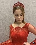 Samantha Діадема з кристалами Сваровски (6,7 см), корона, тіара, фото 2