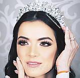 Samantha Діадема з кристалами Сваровски (6,7 см), корона, тіара, фото 4