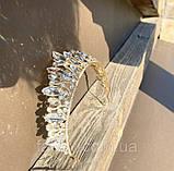 Samantha Діадема з кристалами Сваровски (6,7 см), корона, тіара, фото 3