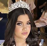 Samantha Діадема з кристалами Сваровски (6,7 см), корона, тіара, фото 5