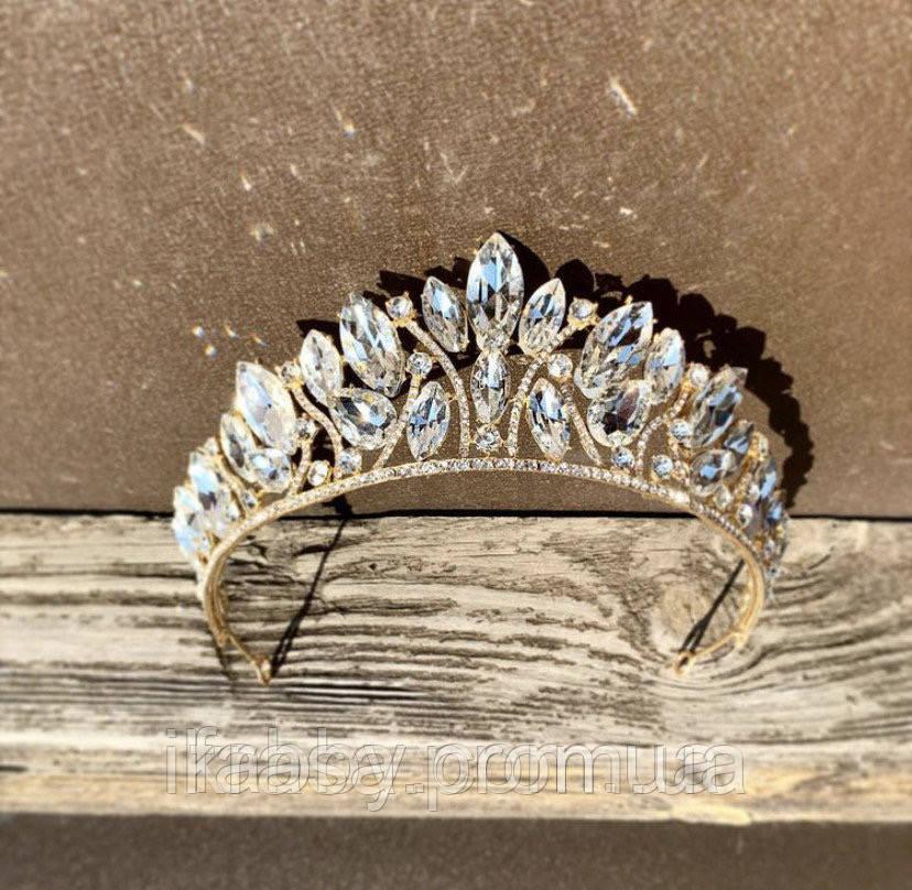 Samantha Діадема з кристалами Сваровски (6,7 см), корона, тіара