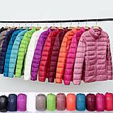 Женская демисезонная куртка Шанель норма и батал в расцветках, фото 2