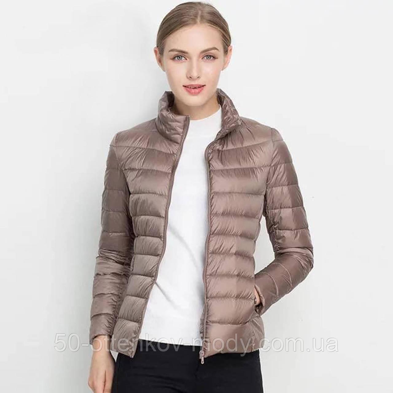 Женская демисезонная куртка Шанель норма и батал в расцветках
