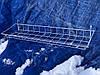 Навесная корзина-полка 850/150мм на торговую сетку,стойку