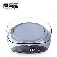Весы кухонные с чашей DSP KD-7003, фото 1