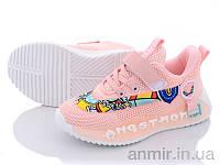 """Кросівки дитячі для дівчинки весна/осінь Q9-B8001 pink (26-31) """"Violeta"""" купити оптом 7км"""