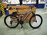 Велосипед Azimut Blackmount 24 x16 GFRD Шимано, фото 4