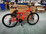 Велосипед Azimut Blackmount 24 x16 GFRD Шимано, фото 2