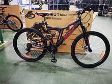 Велосипед Azimut Blackmount 24 x16 GFRD Шимано