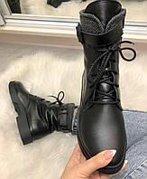 Ботинки кожаные демисезонные, качество люкс