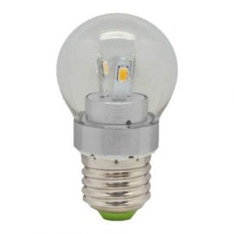 Светодиодная лампа Feron LB-40 3.5W chrome E14 4000K 230V Код.55986