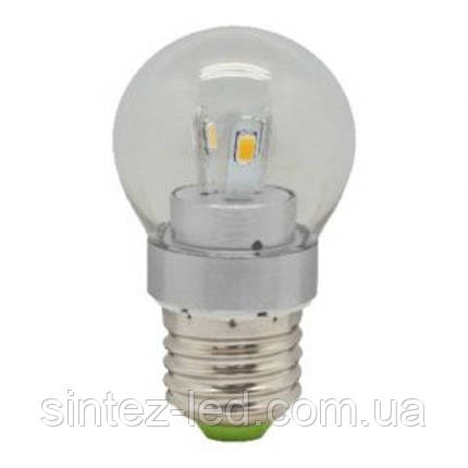 Светодиодная лампа Feron LB-40 3.5W chrome E14 4000K 230V Код.55986, фото 2