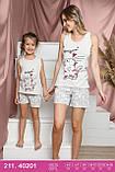 Пижамы с шортами детские,Sexen, фото 2