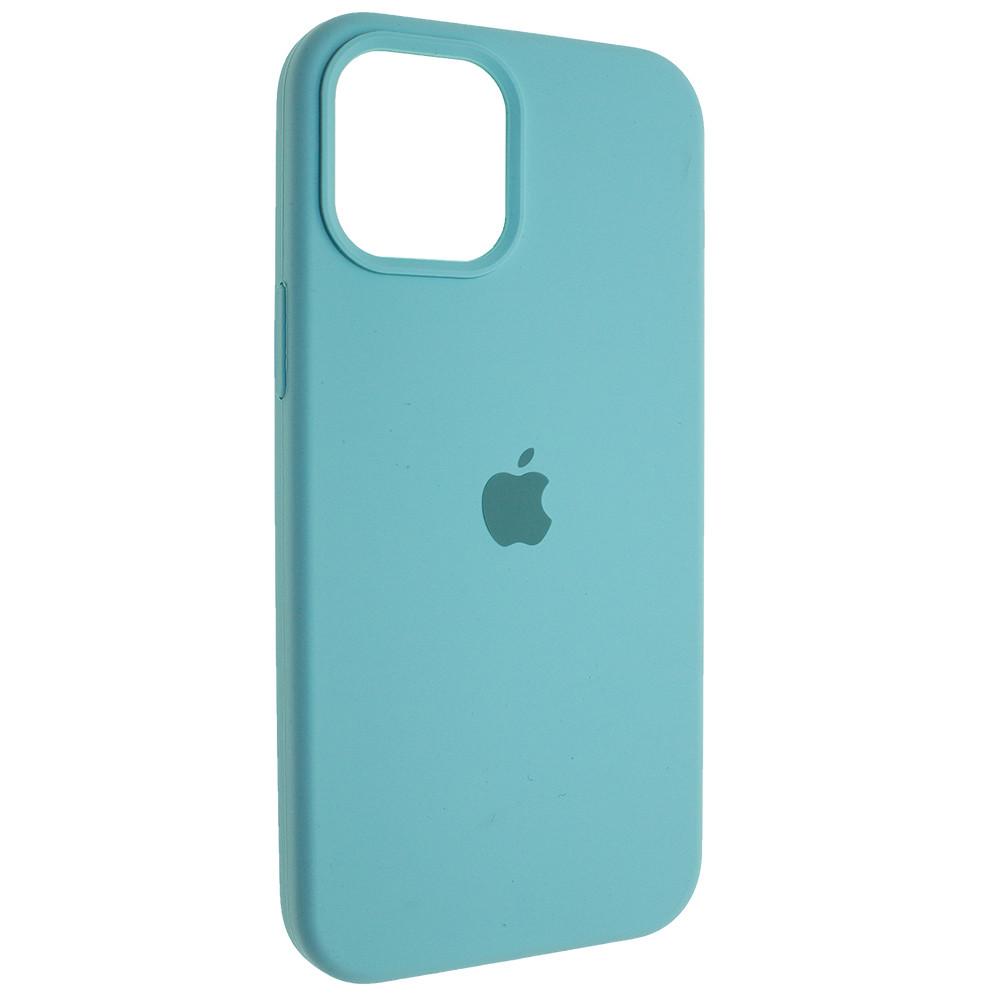 "Чехол Full Silicon iPhone 12 - ""Зеленая лагуна №21"""