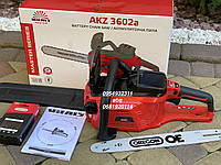 Аккумуляторная цепная пила Vitals Master AKZ 3602a (без АКБ и ЗУ), фото 1