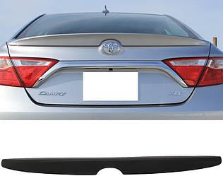 Спойлер Toyota Camry 55 USA (15-17) тюнинг сабля OEM (пластик)