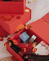Подарочный набор для девушки с люкс брендами Moschino, Dr. Jart+ и др.