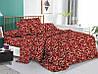 Постельное белье Семейный комплект 2 пододеяльника Бязь Беларусь арт. Вензеля коричневые