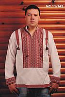 Мужская белая вышиванка