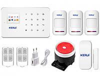 Комплект сигналізації Kerui G18 для 2-кімнатної квартири, фото 1