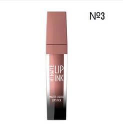 Помада для губ Golden Rose My Matte Lip Ink 03