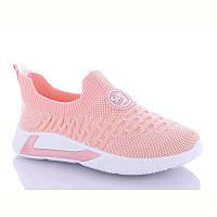 Стильні кросівки текстильні для дівчинки р32-37 (код 8043-00)