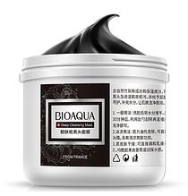 Маска Bioaqua Black Mask очищающая для лица 225 г AN1041, КОД: 1373672