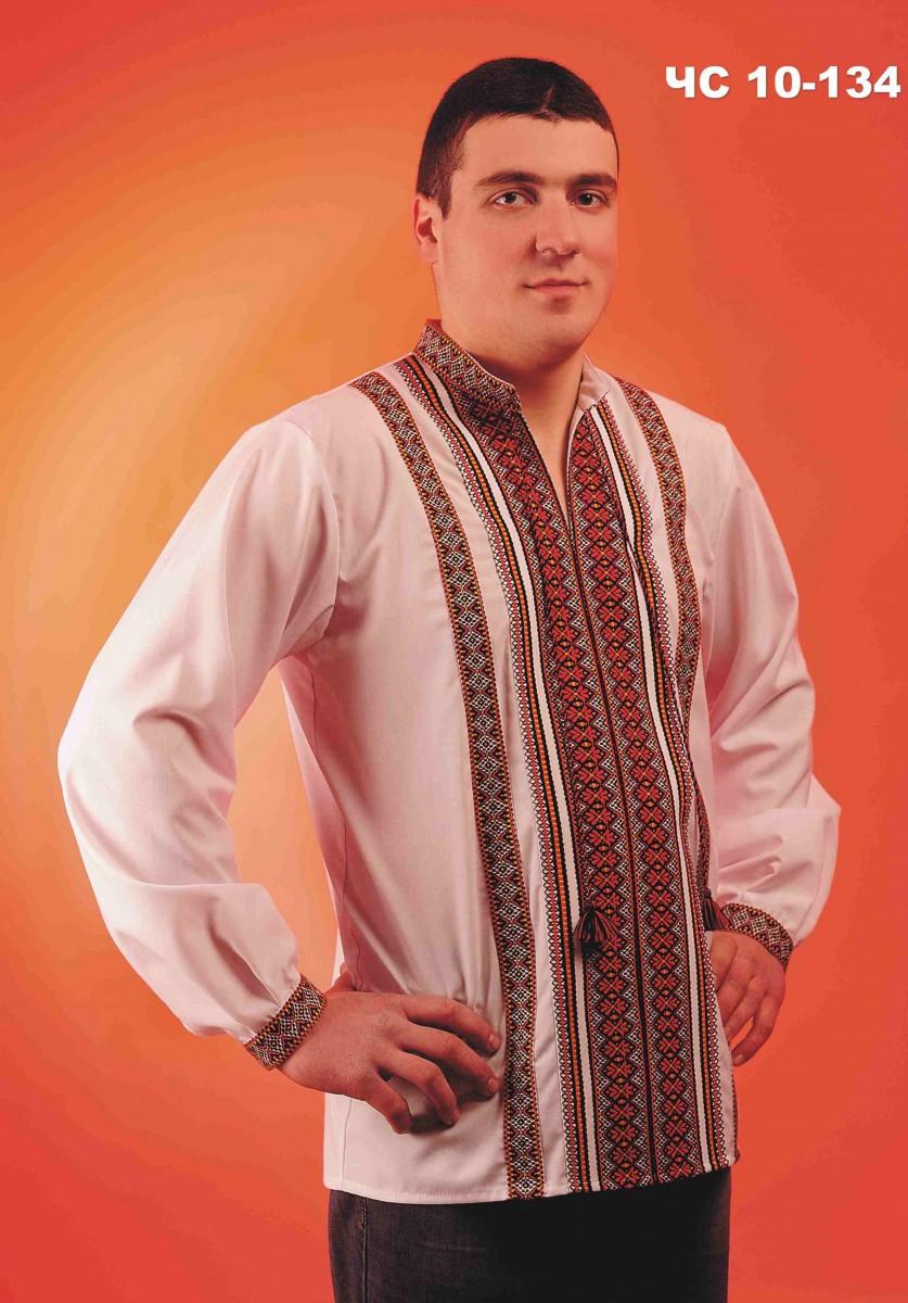 Мужская вышиванка белая - Magtex: Магия текстиля в Тернополе