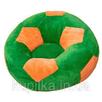 Детское Кресло Zolushka мяч большое 78см зелено-оранжевое (ZL2971)
