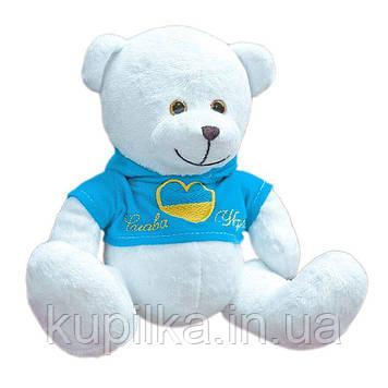 Мягкая игрушка Zolushka Медвежонок Патриот сердцефлаг 19см (ZL5672)