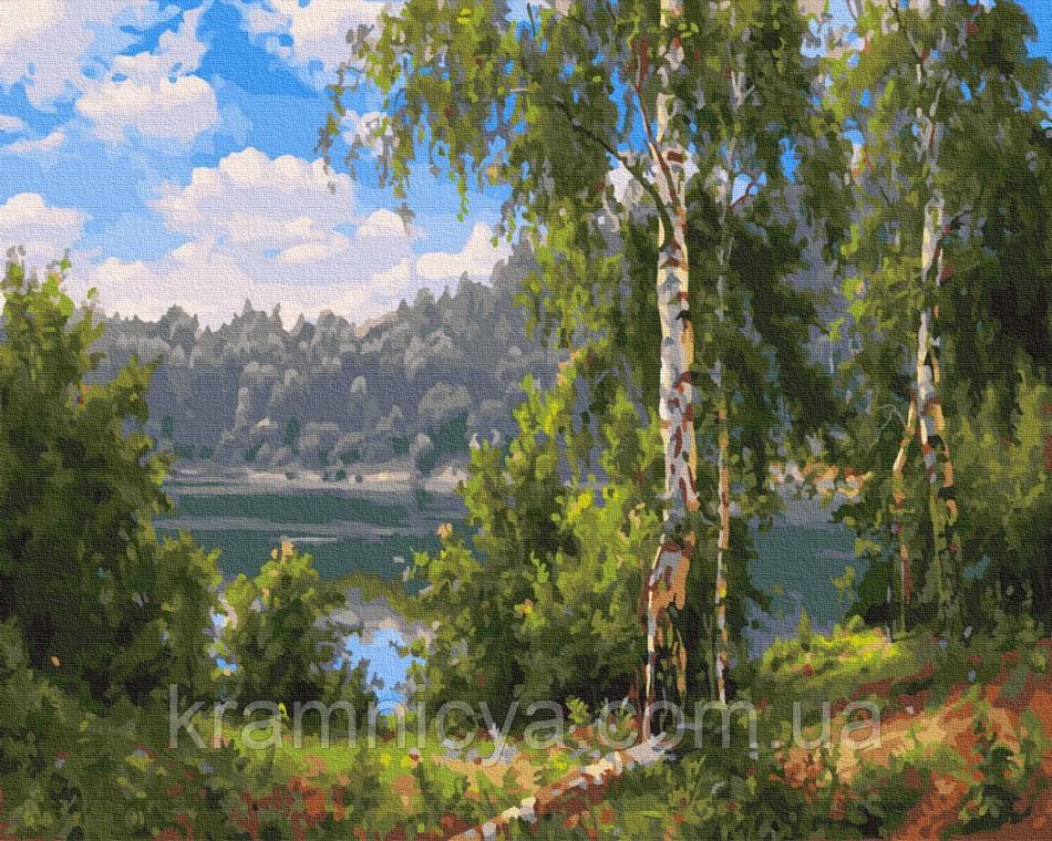 Картина по номерам Лесное озеро, 40x50 Rainbow Art (GX27859)