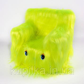 Детский Стульчик Zolushka Пушистик 43см лимонный (ZL6261)
