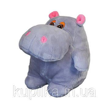 Мягкая игрушка Zolushka Бегемот Гоша маленький 24см (ZL007)