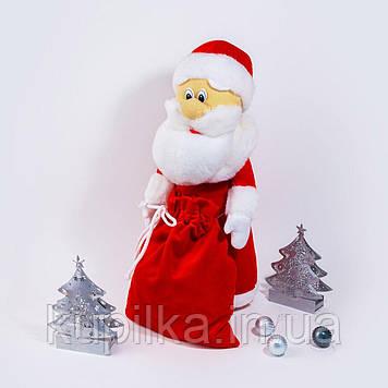 Мягкая игрушка Zolushka Дед Мороз 43см красный (ZL4571)