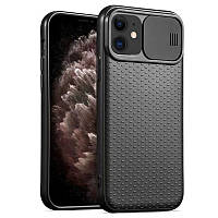 "Чехол Camshield Black TPU со шторкой защищающей камеру для Apple iPhone 11 (6.1"")"