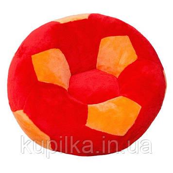 Детское Кресло Zolushka мяч большое 78см красно-оранжевое (ZL2975)