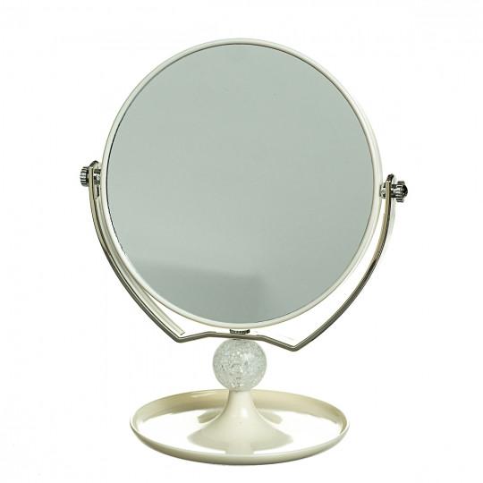 Дзеркало косметичне 21*17,5 см (0500-009)