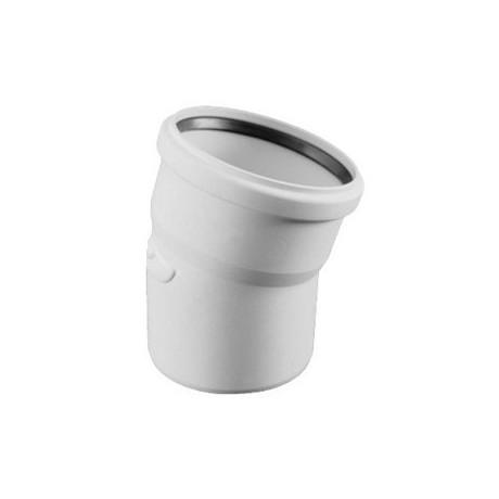 Коліно каналізаційне Ostendorf HT-Safe white 40*30