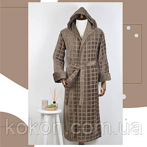 Мужской халат  Massimo Monelli (0005) оливковый