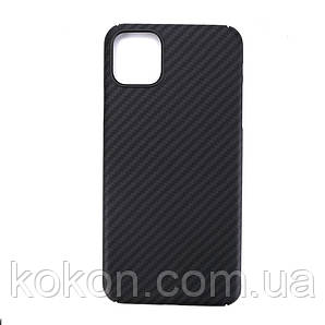 Карбоновий чохол - накладка для Apple iPhone 11 Black