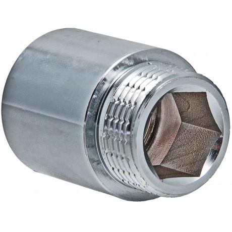 """Подовжувач Valtec 1"""" вн. х25 мм (Хром)"""