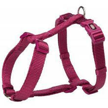 Шлея Trixie Premium S-M, для собак, 42-60 см, 15 мм, яскраво-рожева