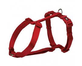 Шлея Trixie Premium M-L, для собак, 52-75см, 20 мм, червона
