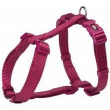 Шлея Trixie Premium L-XL, для собак, 75-120 см, 25 мм, яскраво-рожева