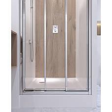 Душевая дверь в нишу Qtap Unifold CRM208.C4, фото 3