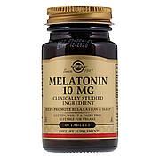 Мелатонин 10 мг, Solgar, 60 таблеток
