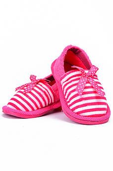 Детские тапочки розовые AAA 128164M